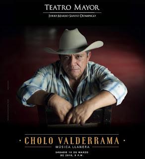 Cholo Valderrama vuelve al Teatro Mayor en 2018