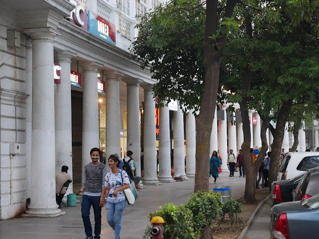 Pusat keramaian New Delhi, Cannaught Place