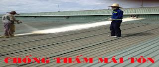 Chống thấm mái tôn tại Quảng Ninh