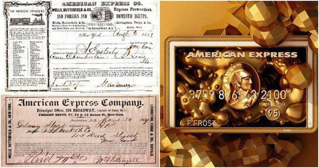 American Express, công ty tín dụng mạnh nhất thế giới, bắt đầu với tư cách dịch vụ bưu chính.