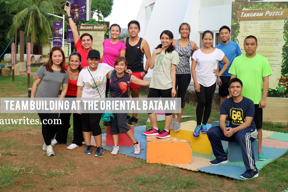 Team building at The Oriental Bataan
