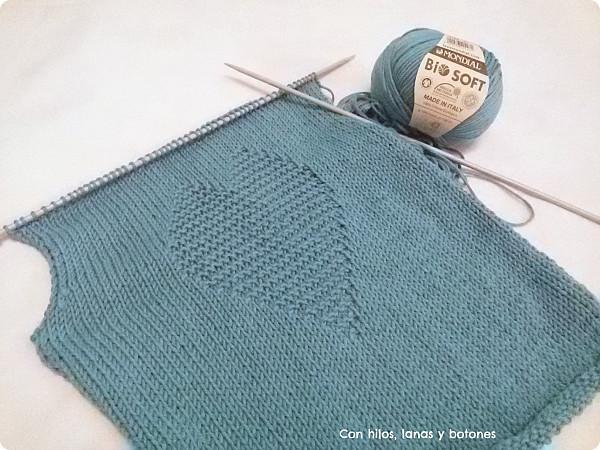 Con hilos, lanas y botones: Jersey CORAZÓN