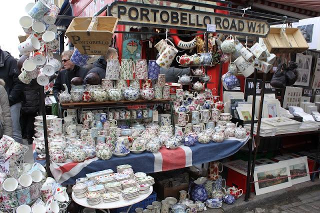 Portobelllo Road em Londres