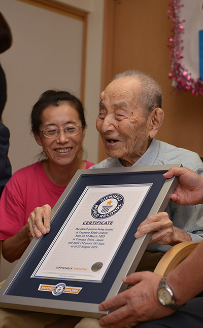 oldest man in the world 2015