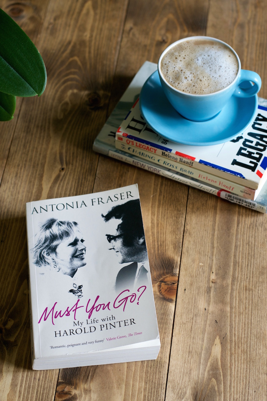 Must You Go?: My Life with Harold Pinter by Antonia Fraser · Lisa Hjalt
