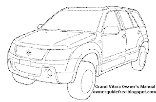 Owners Manual for Suzuki Grand Vitara