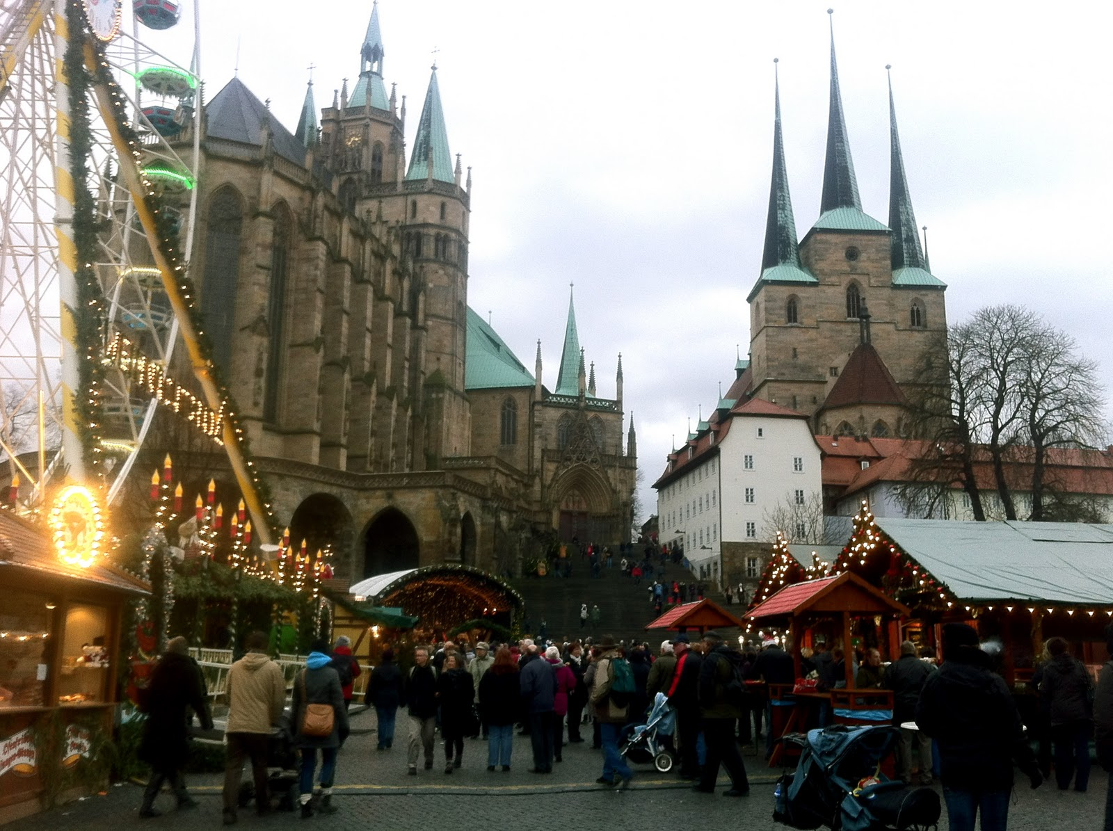 Cozy In Germany: Erfurt Christmas Market And A Little Accident