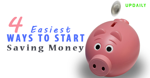 4 Easiest Ways to Start Saving Money