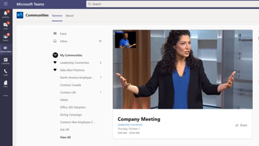 Yammer integration comes to Microsoft Teams