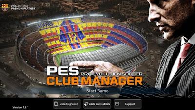 PES CLUB MANAGER 2018 MOD APK