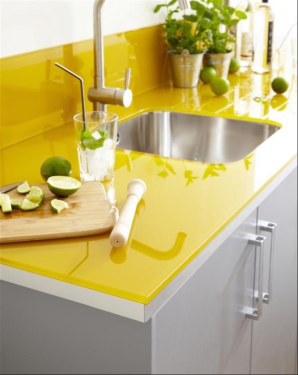 8 fotos de cocinas amarillas