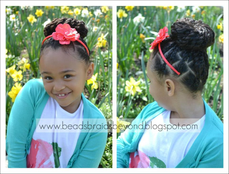 Strange Back To School Styles For Your Curly Daughter Natural Hair Styles Hairstyles For Women Draintrainus