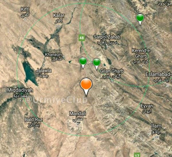 Fuerte sismo sacude el oeste de Iran este Domingo
