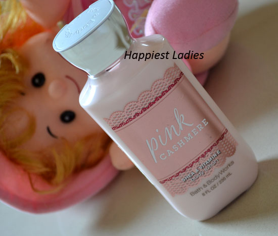 Bath & Body Works Pink Cashmere Body Lotion Review