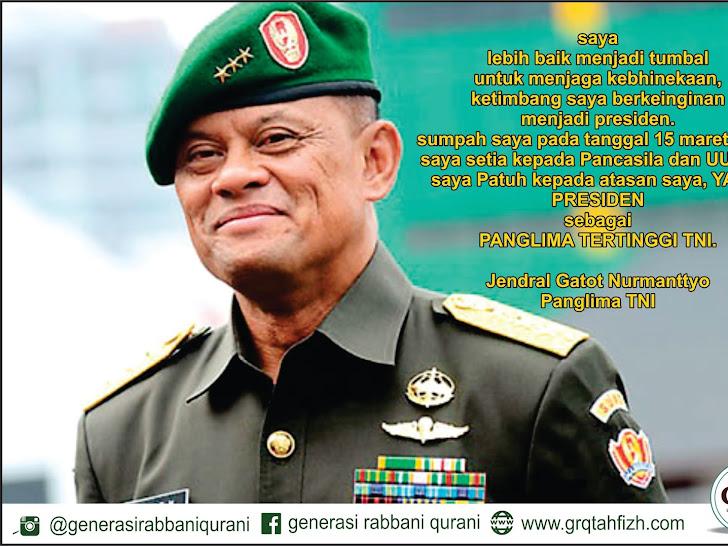 Kisah Jenderal Gatot Nurmantyo Nekad Ikut Latihan Kopassus Di Usia 55 Tahun