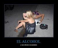 humor efectos secundarios del alcohol