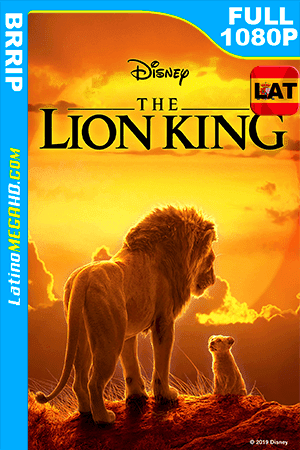 El Rey León (2019) Latino FULL HD 1080P ()