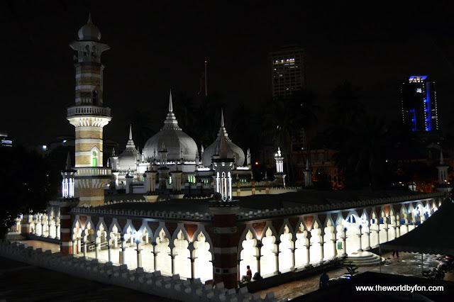 Masjid Jamek, Kuala Lumpur, Malásia.