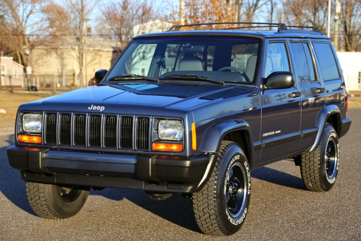 daily turismo 10k clean xj 2001 jeep cherokee sport. Black Bedroom Furniture Sets. Home Design Ideas