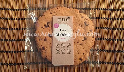 cookie sin gluten tot d'una