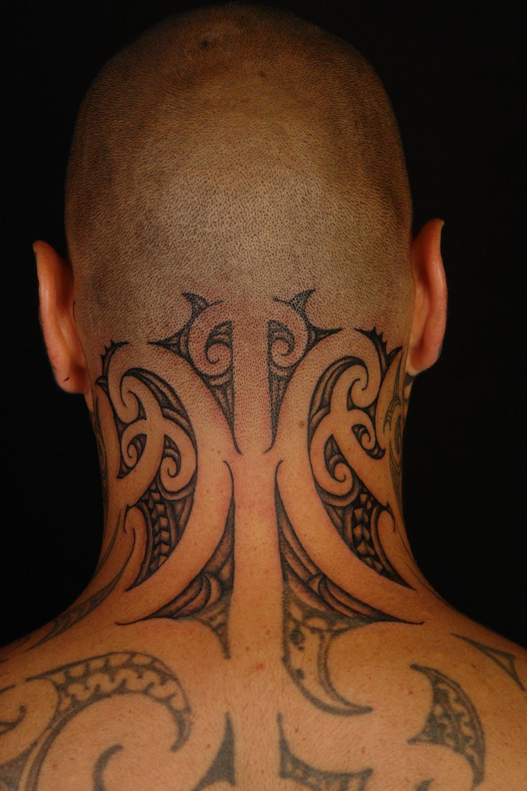 neck tattoos designs for men 147