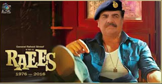 Gen. Raheel in & as Raees | Raees Trailer | Raheel Shreef vs Modi