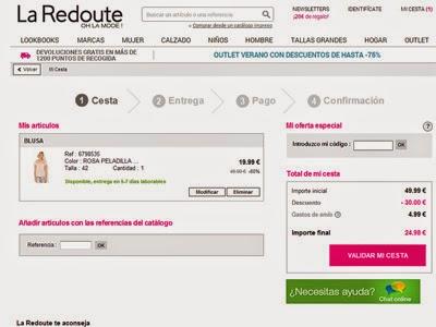 46a056dd03 Codigo La Redoute - Codigo descuento Laredoute.es 2019 y ofertas en ...