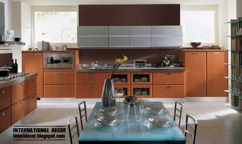 Eco friendly kitchen designs with MDF kitchen cabinets ...