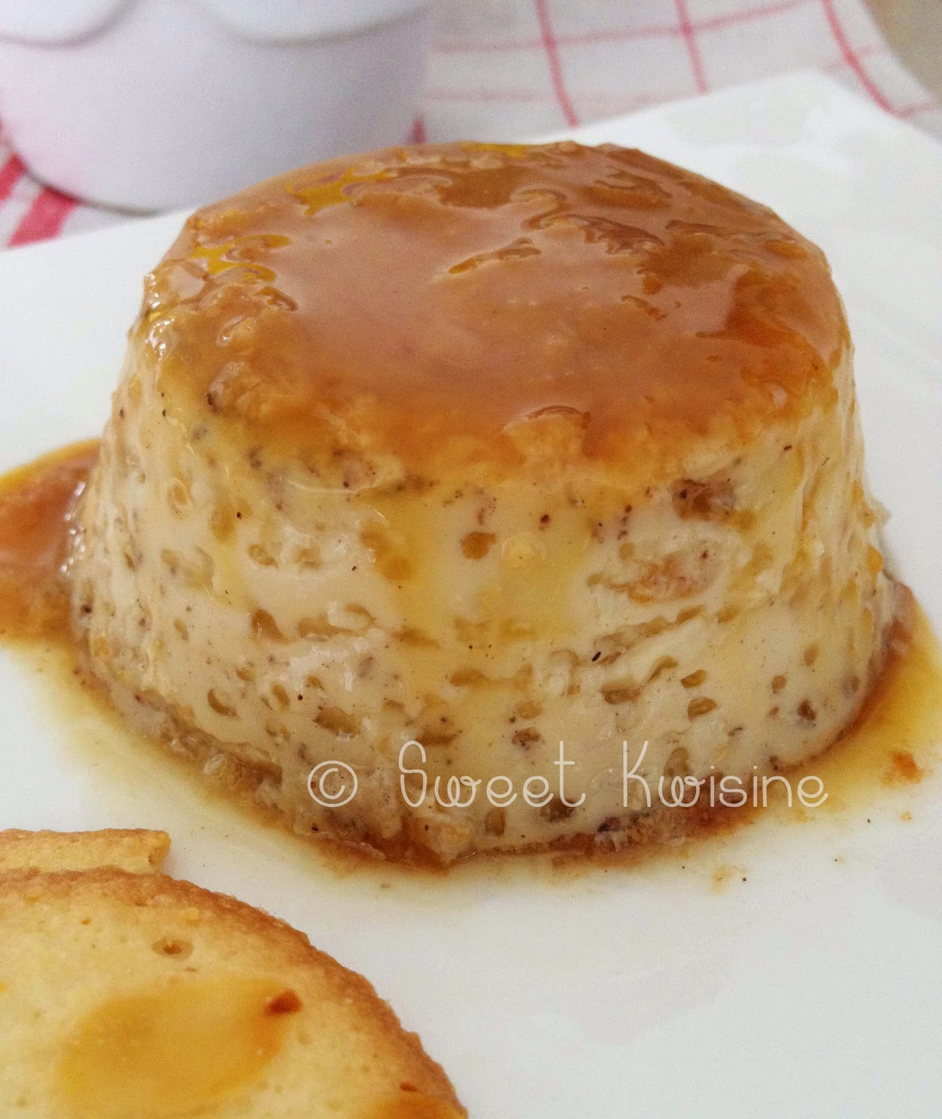sweet kwisine, crème aux oeufs, vanille, caramel, caramel beurre salé, dessert, cuisine facile, dessert d'enfance