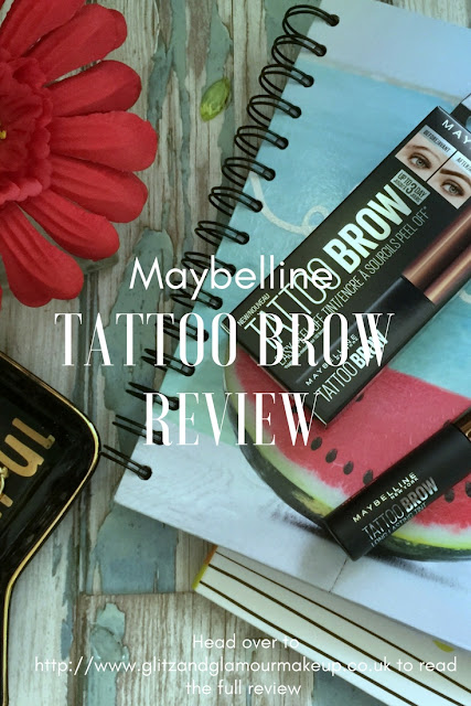maybelline tattoo brow review pinterest
