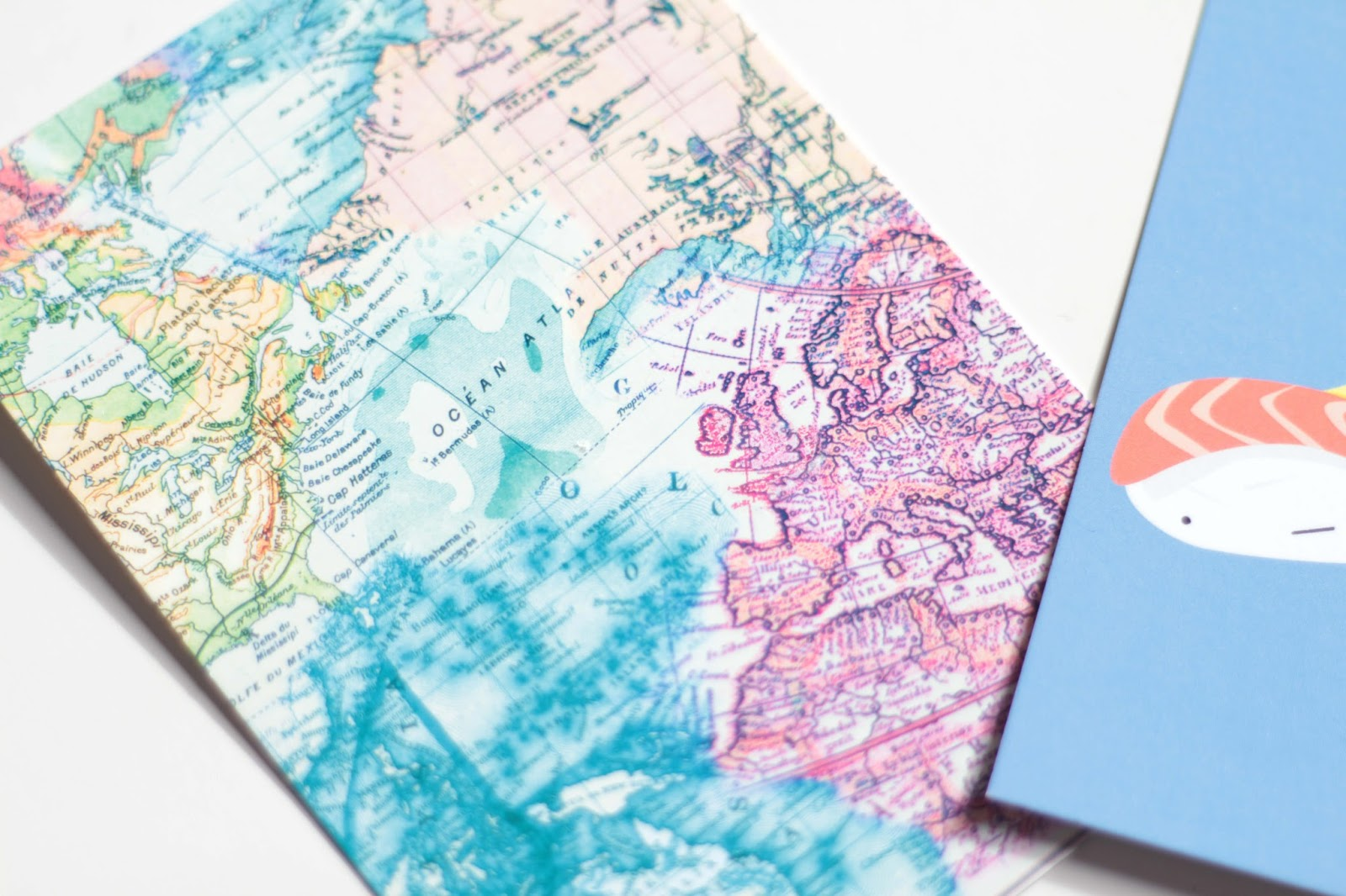 paperchase map postcard