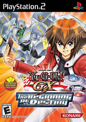 Yu-Gi-Oh! GX: The Beginning of Destiny PS2 GAME ISO