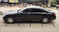 Mâm xe lên đời giống mâm Mercedes Maybach S560 4MATIC 2019