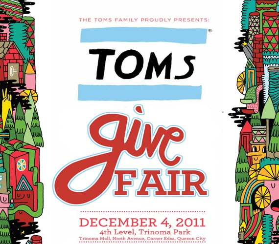 Save the Date - TOMS Give Fair on December 04, 2011