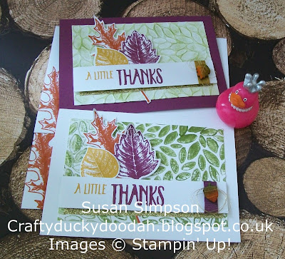 Stampin' Up! UK Independent Demonstrator Susan Simpson, Craftyduckydoodah!, Review of 2016 Part IV, Vintage Leaves, Petal Burst TIEF, Supplies available 24/7,