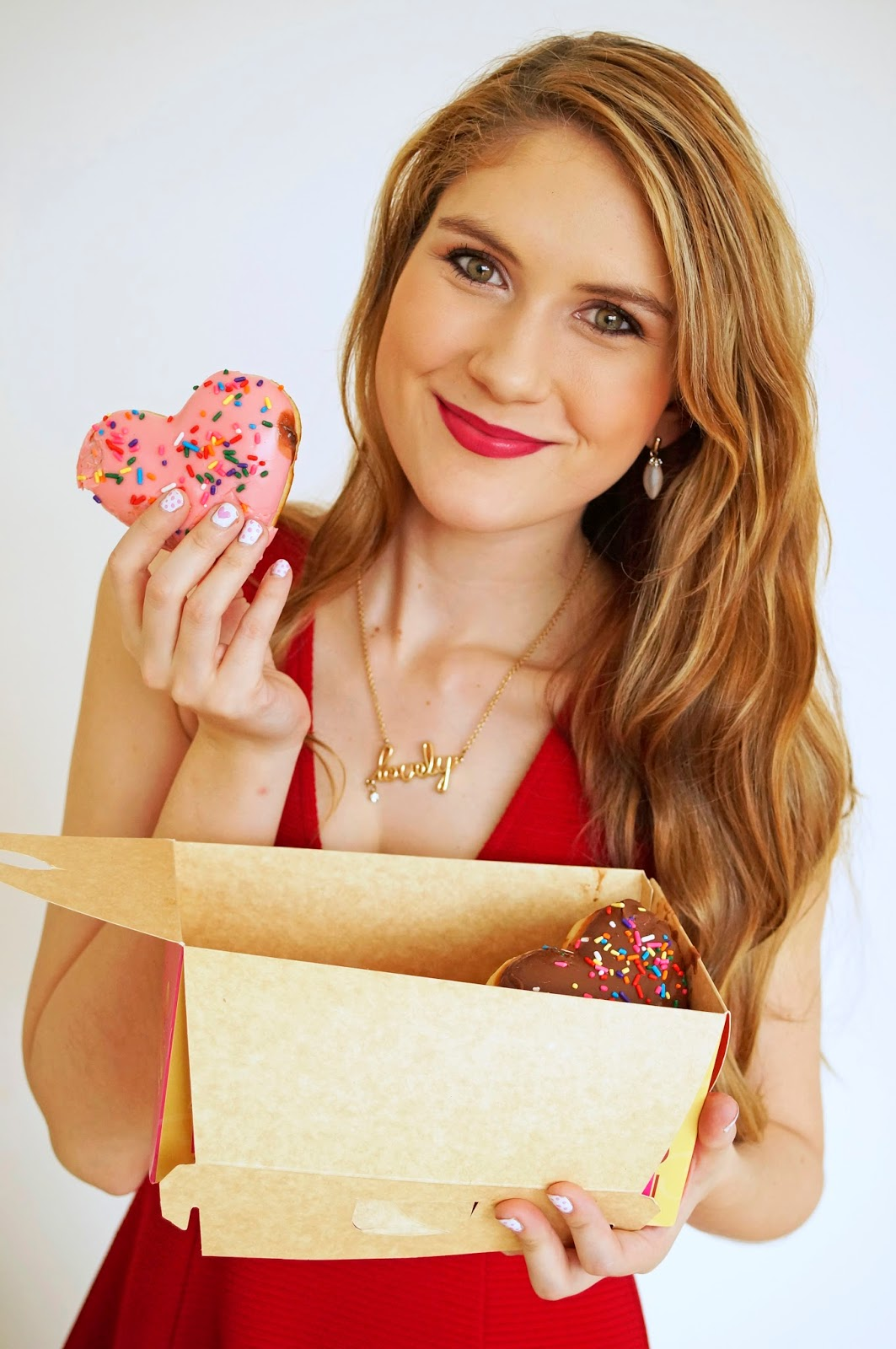 Cute Valentines Day Donuts