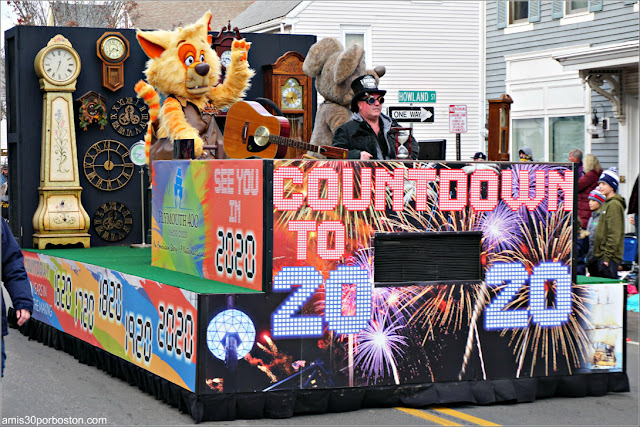 Aniversario 2020 Desfile de Acción de Gracias de Plymouth