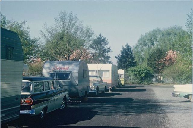 Beautiful Color Photos Of The Usa In The 50s Vintage