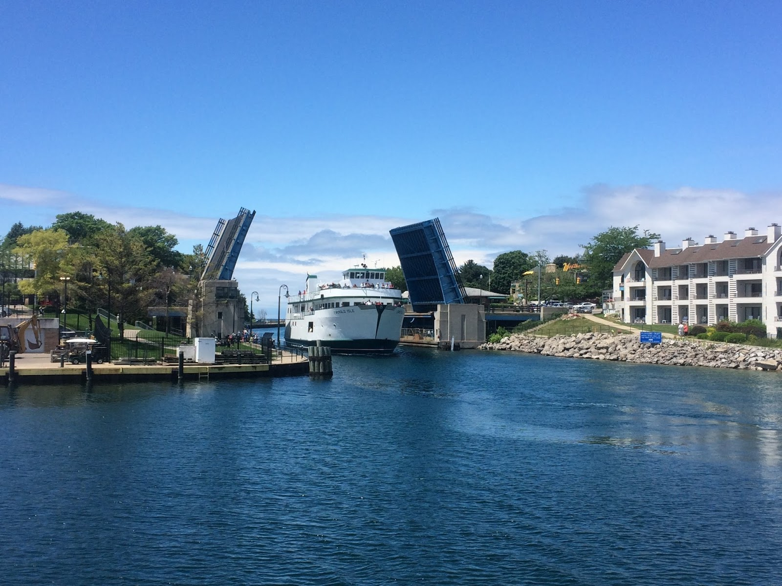 Ferry From Charlevoix To Beaver Island