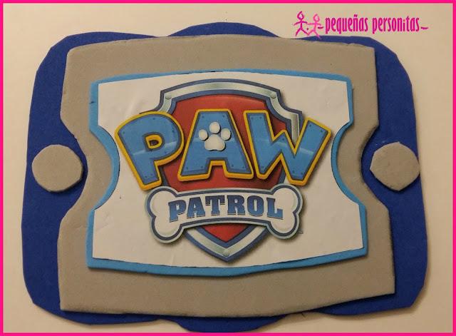 DIY, manualidades, paw pad, patrulla canina, paw patrol, goma eva, manualidades para niños, tutorial