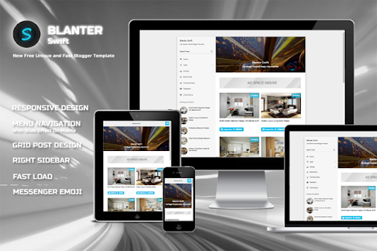 Blanter Swift Responsive Fast Load Blogger Templates - Kaizentemplate - Rebuild Another Awesome Blogger Templates