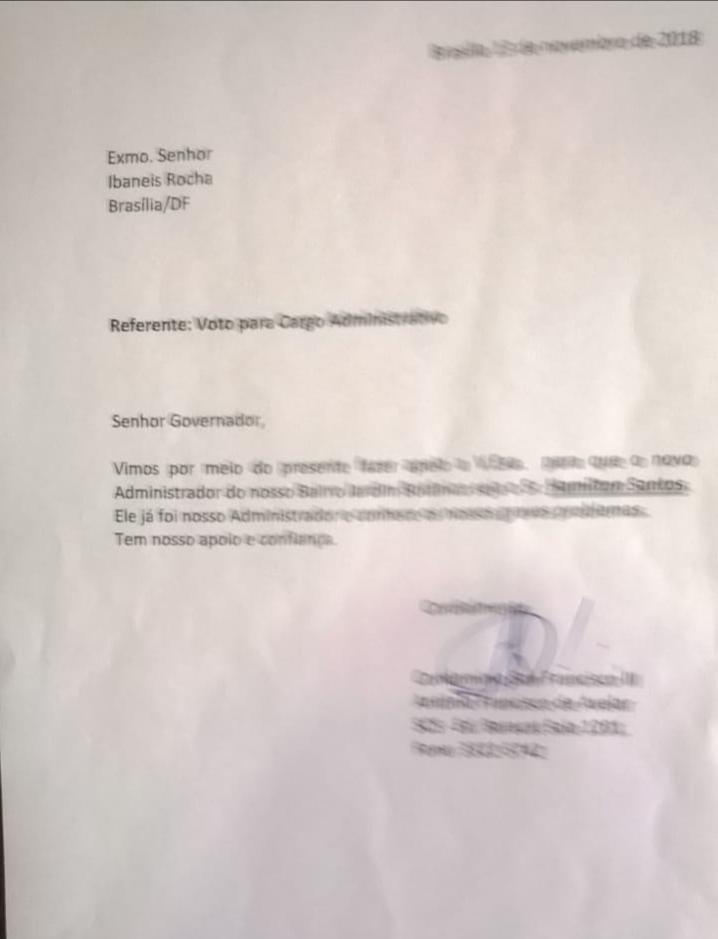 a9dddc74 9bdc 4909 8104 6babe741cca1 - A comunidade do Jardim Botânico e Jardins Mangueiral já sabe quem é o candidato a Administrador da nossa região conhece bem as necessidades da região e quer; Hamilton Santos como futuro Administrador Regional do JB.