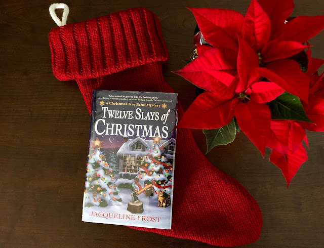 Book Review of Twelve Slays of Christmas by Jacqueline Frost