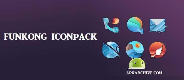 FUNKONG ICONPACK APK indir Android Uygulama