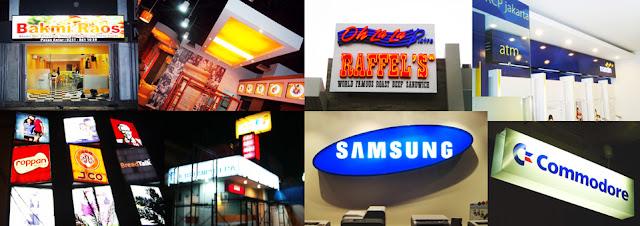 Perusahaan Jasa Neon Box Snapy