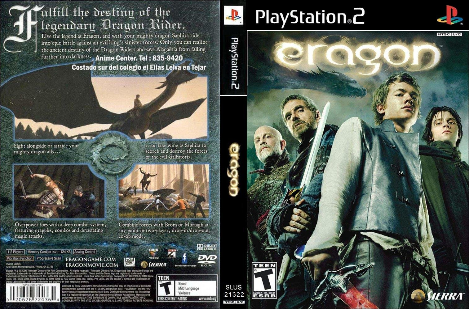Download game eragon ps2 full version iso for pc | murnia games.