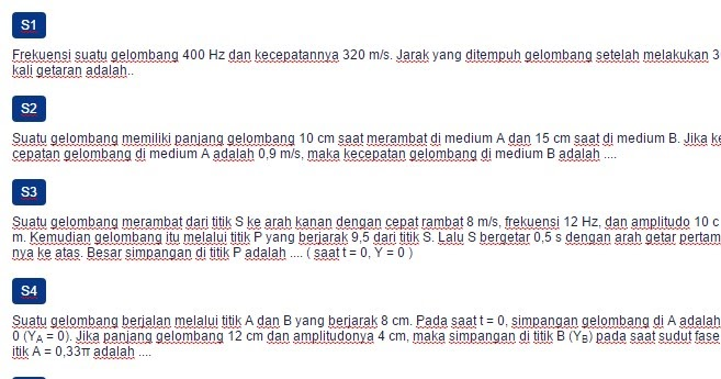 17+ Contoh Soal Cepat Rambat Gelombang Berjalan - Kumpulan ...