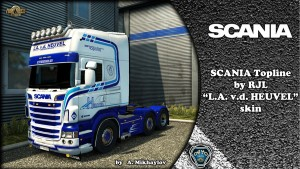 L.A. v.d. Heuvel Skin for Scania RJL