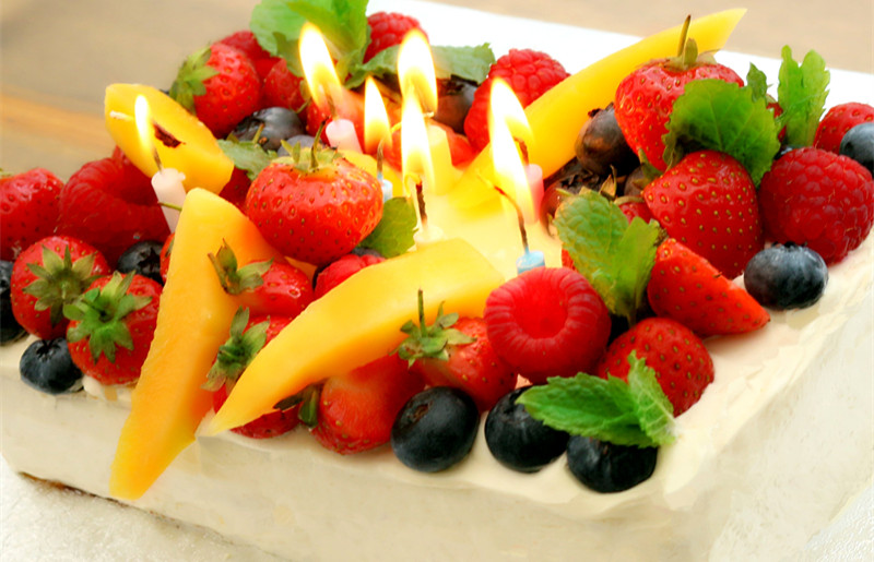 Josephines Recipes How To Make Birthday Cake with Cream and