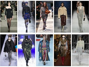 Fashion Week: De New York à Paris Automne/Hiver 2018/2019